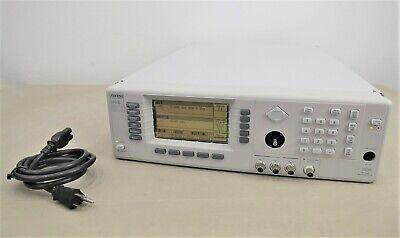 Anritsu 68369b Synthesized Signal Generator 10 Mhz To 40 Ghz W Options 2b 11