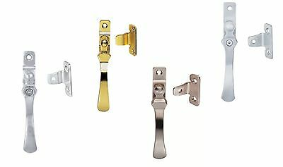 - Carlisle Brass V1005,V1005LCK Casement Fastener Bronze/Brass/Chrome/Satin/Nickel