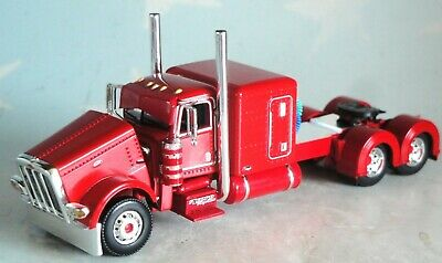 "DCP RED PETERBILT 389 WITH 63"" SLEEPER 1/64 60-0691"