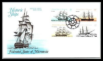 GP GOLDPATH: MICRONESIA COVER 1985 FIRST DAY COVER _CV677_P14