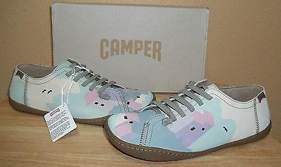 Camper Twins K200161-002 Womens Multi-color Nubuck Slip-on Shoes New NIB 39/US 9 na sprzedaż  Wysyłka do Poland