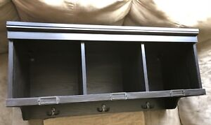 Brand New assembled entry organizer hall cubby/coat hanger