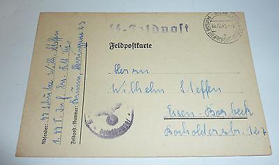 SS Feldpost Totenkopf Inf.-Ers.-Batl. Br�nn B�hmen & M�hren Sudetenland Borbeck