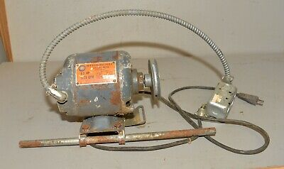 Westinghouse Vintage 13 Hp Motor 1725 Rpm Drill Press Band Table Saw 12 Shaft