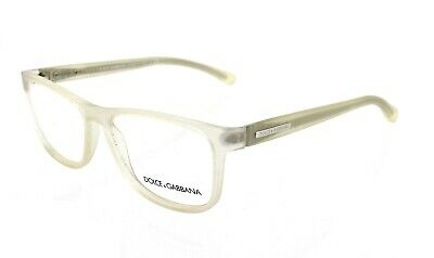 New Dolce & Gabana DG5003 2653 Ice Transparent Eyeglasses RX Frames (Dolce & Gabana Glasses)