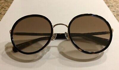 Anna Sui AS1068 Women's Tortoiseshell Brown Designer Sunglasses Made In (Anna Sui Sunglasses)