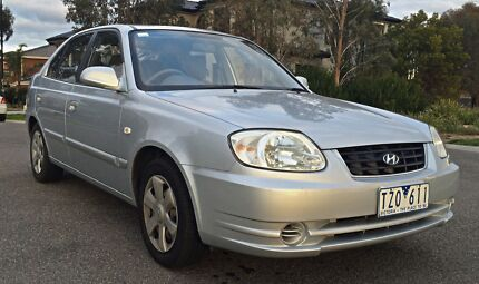 2006 HYUNDAI ACCENT WITH 7 MONTHS REG & RWC!!! Roxburgh Park Hume Area Preview