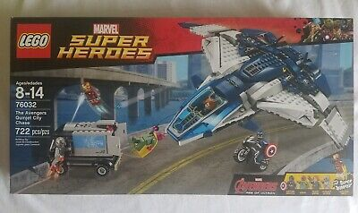 New LEGO 76032 Marvel Super Heroes THE AVENGERS QUINJET CITY CHASE Ultron