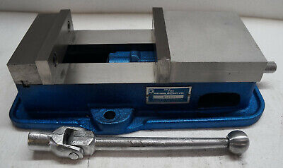 Kurt Anglock 6 Model D60 Precision Machine Vise W Jaws And Handle.