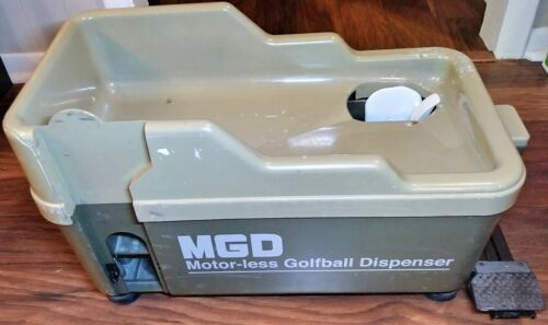 MGD No Power No Electricity Required Golf Ball Dispenser Foot Pedal READ LISTING