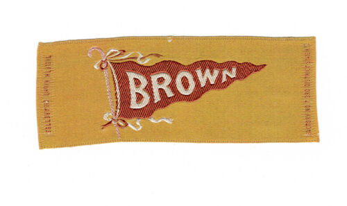 Vintage Brown University Twelfth Night Silk Cigarette Premium