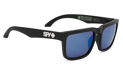 Spy HELM  Matte Black w/ Happy Light Blue Spectra  183015374362