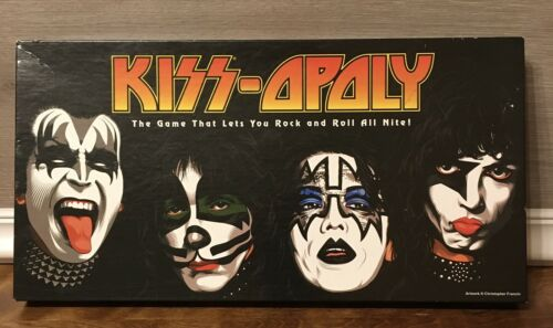 Kiss-Opoly The Game That Lets You Rock And Roll All Nite 2-6 Players Used USA - $45.99