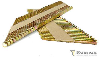 2000 Streifennägel 34°  D-Kopf 2,8x50mm blank glatt papiergeb. zertifiziert