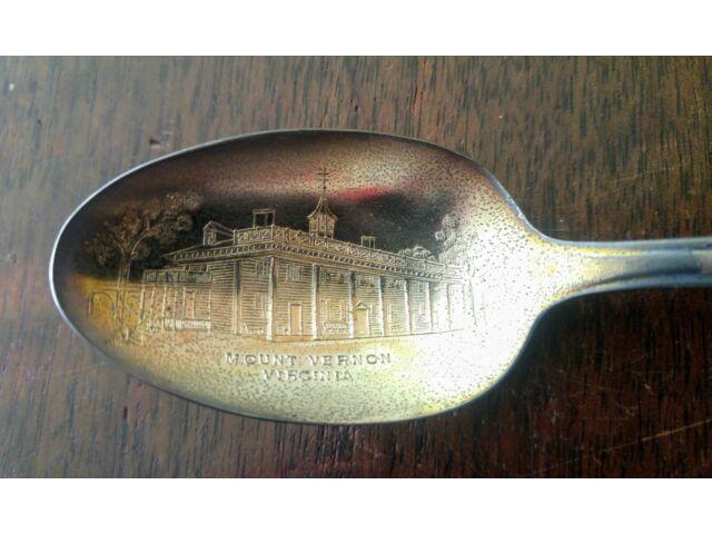 Washington Jefferson Adams Presidential Commemorative Silverplate Spoons Rogers