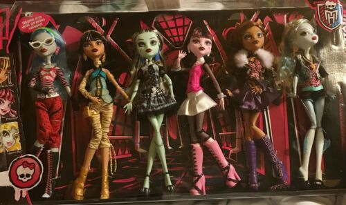 Monster High Original Ghouls Collection Dolls New Sealed 2014 Set of 6