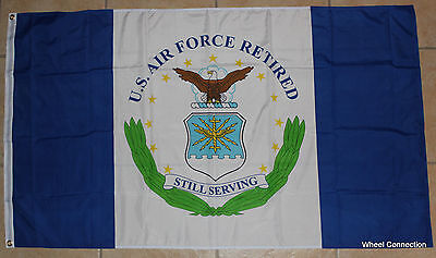 United States Air Force Retired Flag Military Veterans Armed Forces of America