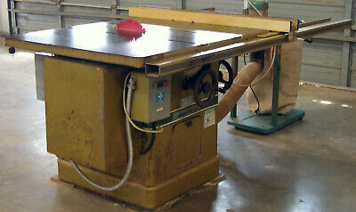 Powermatic Model 72a 7.5hp 14 Left Tilt Table Saw Wfence