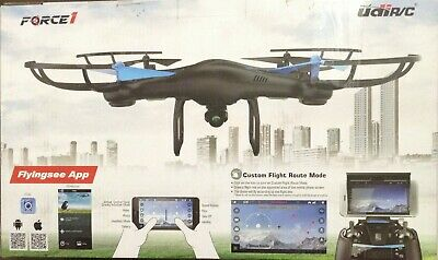 FORCE 1 BLUE JAY AERIAL PHOTOGRAPHY DRONE WIFI FPV UDIR/C U45W