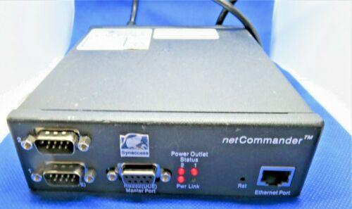 SYNACCESS NPC-22(S) netCOMMANCER 10/100 BASE-T RJ-45