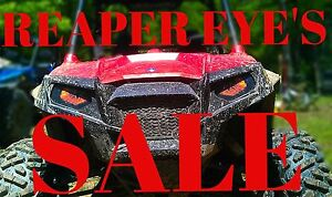 Polaris-Ranger-RZR-800-REAPER-Head-light-Covers-ORIGINAL-RUKINDCOVERS