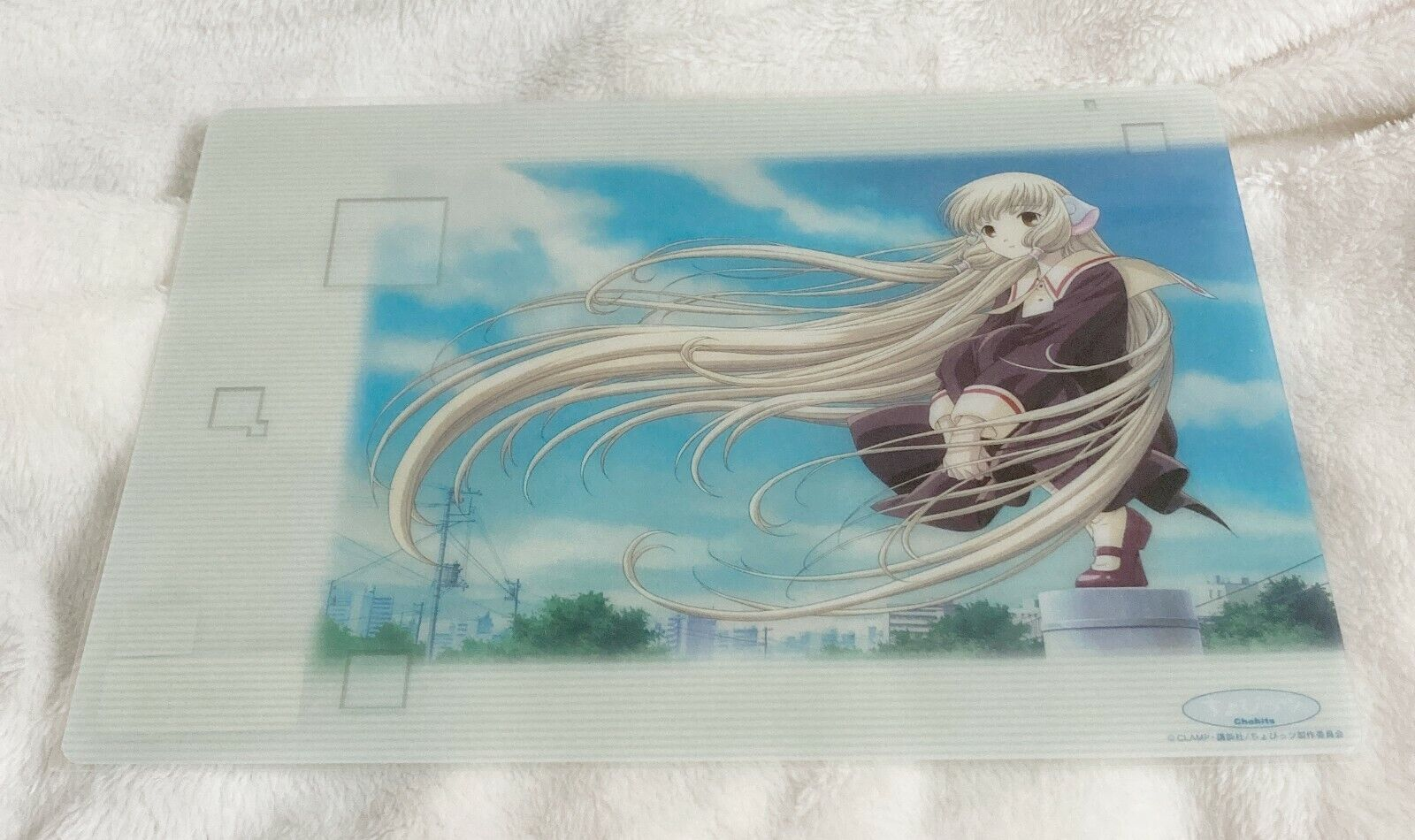 Kodansha, Vintage CLAMP Chobits Character One Sided Pencil Board, 10 x 7 Inch