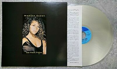 MARIAH CAREY THE FIRST VISION 1991 CSLM796 Japanese Laserdisk From Japan