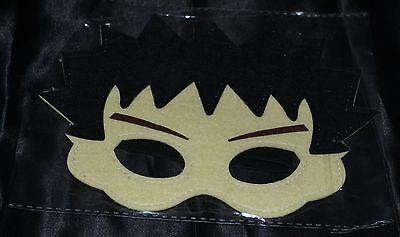 Brock Gym Leader Halloween Masks Costume Boys Kids Pokemon Boulder Badge Kanto