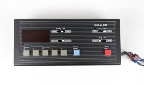 Gralab Electronic Darkroom or Other Timer Model 605