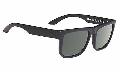 Spy DISCORD Soft Matte Black w/ Happy Grey Polarized + Free Express Post