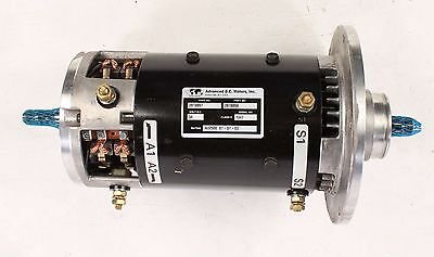New 2818897 Clark Forklift Traction Drive Motor 36v