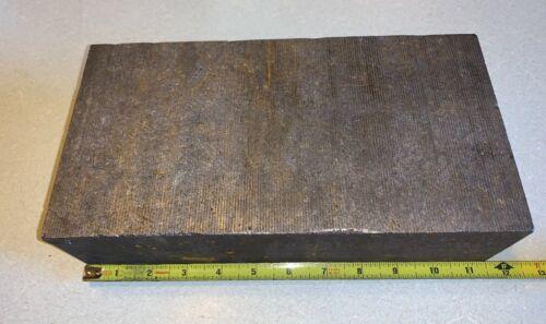 """Coarse Grain Graphite Block Approximately 3"""" x 6"""" x 11.5"""""""