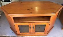 TV corner cabinet, 3 shelves, on wheels Mount Annan Camden Area Preview