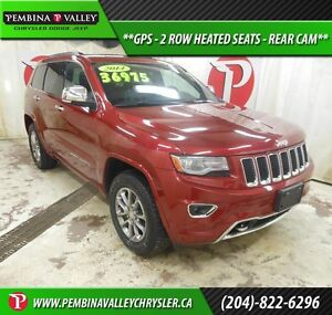 2014 Jeep Grand Cherokee Overland *GPS, 2 ROW HEATED SEATS, REAR