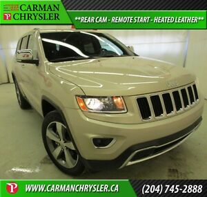 2015 Jeep Grand Cherokee Limited *REAR CAM, REMOTE START, HEATED