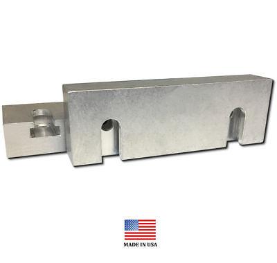6 X 3 X 1 Quick Change Machinable Steel Vise Soft Jaws For Kurt 6 Vises 6x3x1
