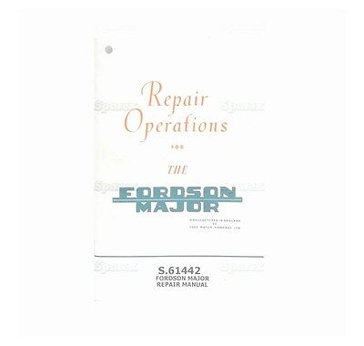Sparex S.61442 Manual Service Ford Fordson Major