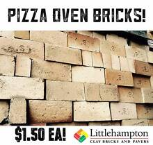SALE! $1.50 Pizza Oven Bricks - Special Shapes for Curved Ovens Adelaide CBD Adelaide City Preview