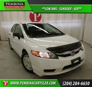 2009 Honda Civic DX-G *LOW KMS, SUNROOF, AIR*