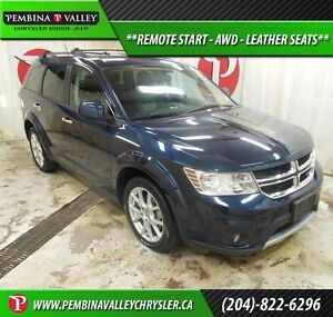 2013 Dodge Journey R/T *REMOTE START, AWD, LEATHER INTERIOR*