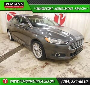 2016 Ford Fusion SE *REMOTE START, HEATED LEATHER, REAR CAM*