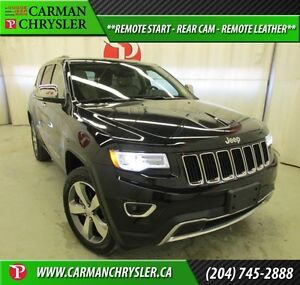 2015 Jeep Grand Cherokee Limited *REMOTE START, REAR CAM, HEATED