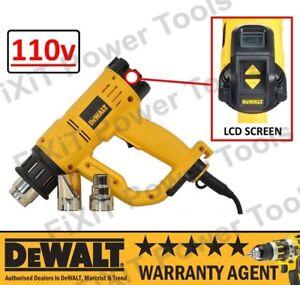 DeWALT D26414 2000W 110V Professional Heavy Duty Digital LCD Hot Air Heat Gun RW