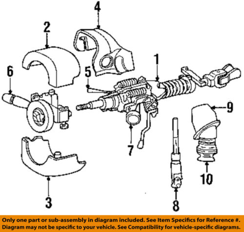 Chrysler Oem Ignition Lock Cylinder 5083915ab