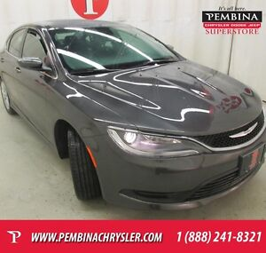 2016 Chrysler 200 LX *LOW KMS, ACTIVE GRILLE SHUTTERS, AIR*