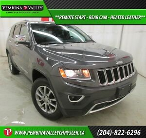 2016 Jeep Grand Cherokee Limited *REMOTE START, REAR CAM, HEATED