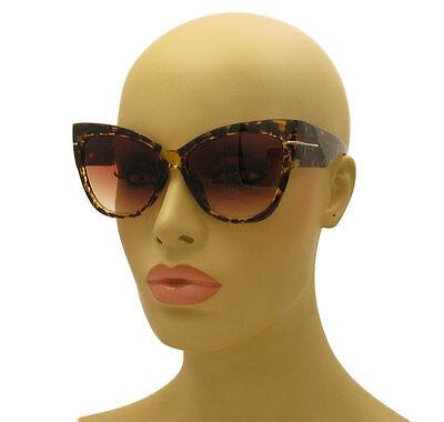 Bulk Wholesale Lot 100 Cat Eye Thick Frame Spotted Brown Sunglasses Anoushka