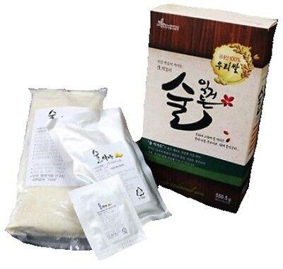 Korea Traditional Raw Rice Wine DIY Kit Makgeolli
