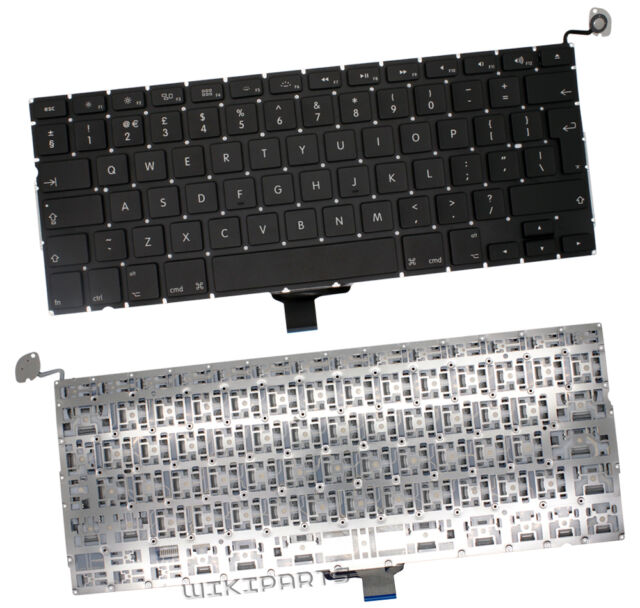 New Genuine Apple Macbook Pro MD102LL/A Qwerty Black UK Laptop Keyboard