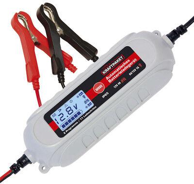 Dino KRAFTPAKET Batterieladegerät 6V/12V-4A mit Batterietester Erhaltungsladerät